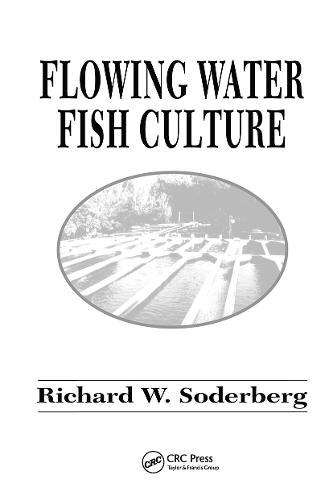 Flowing Water Fish Culture (Hardback)