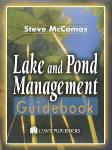 Lake and Pond Management Guidebook (Hardback)