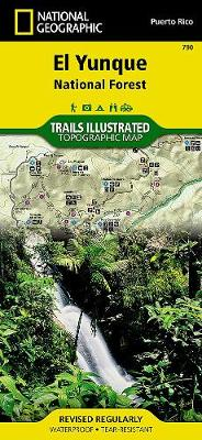 El Yunque National Forest: Trails Illustrated Other Rec. Areas (Sheet map, folded)