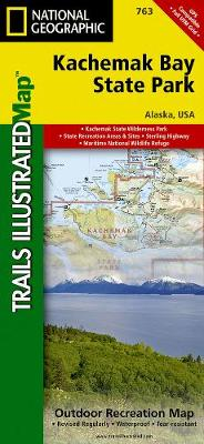 Kachemak Bay State Park: Trails Illustrated Other Rec. Areas (Sheet map, folded)