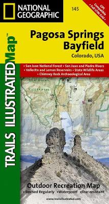 Pagosa Springs/bayfield: Trails Illustrated (Sheet map, folded)