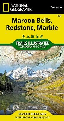 Maroon Bells/redstone/marble: Trails Illustrated (Sheet map, folded)
