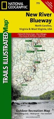 New River Blueway: Trails Illustrated Other Rec. Areas (Sheet map, folded)