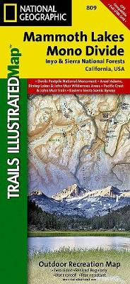 Mammoth Lakes/mono Divide: Trails Illustrated Other Rec. Areas (Sheet map, folded)