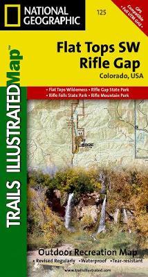 Flat Tops Sw/riflegap: Trails Illustrated (Sheet map, folded)