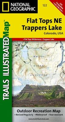 Flat Tops Ne/trapper Lake: Trails Illustrated (Sheet map, folded)