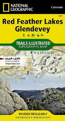 Red Feather Lakes/glendevey: Trails Illustrated (Sheet map, folded)