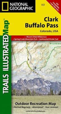 Clark/buffalo Pass: Trails Illustrated (Sheet map, folded)