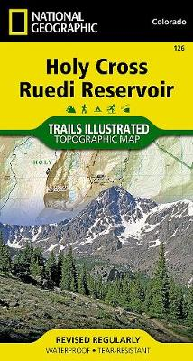 Holy Cross/reudi Reservoir: Trails Illustrated (Sheet map, folded)