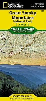 Great Smoky Mountains National Park: Trails Illustrated National Parks (Sheet map, folded)