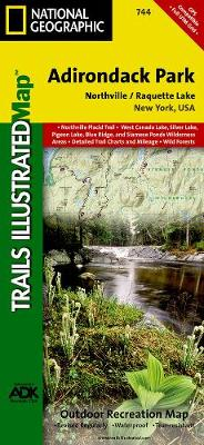 Northville/raquette Lake, Adirondack Park: Trails Illustrated Other Rec. Areas (Sheet map, folded)
