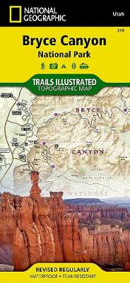 Bryce Canyon National Park: Trails Illustrated National Parks (Sheet map, folded)