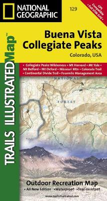 Buena Vista/collegiate Peaks: Trails Illustrated (Sheet map, folded)