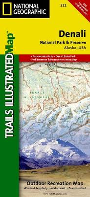 Denali National Park And Preserve: Trails Illustrated National Parks (Sheet map, folded)