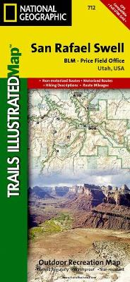 San Rafael Swell: Trails Illustrated Other Rec. Areas (Sheet map, folded)