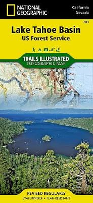 Lake Tahoe Basin: Trails Illustrated Other Rec. Areas (Sheet map, folded)