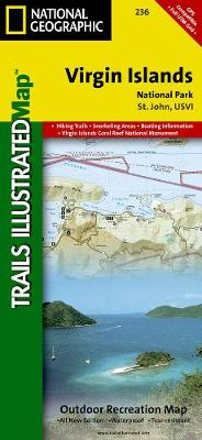 Virgin Islands National Park: Trails Illustrated National Parks (Sheet map, folded)