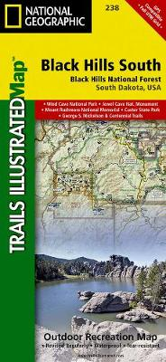 Black Hills National Forest, Southeast, Windcave National Park: Trails Illustrated National Parks (Sheet map, folded)