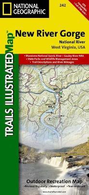 New River Gorge National River: Trails Illustrated National Parks (Sheet map, folded)