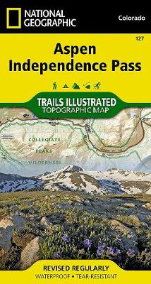 Aspen/independence Pass: Trails Illustrated (Sheet map, folded)