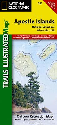 Apostle Isles National Lakeshore: Trails Illustrated National Parks (Sheet map, folded)