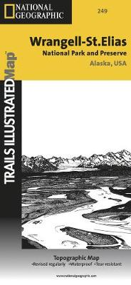 Wrangell/st.elias National Park: Trails Illustrated National Parks (Sheet map, folded)