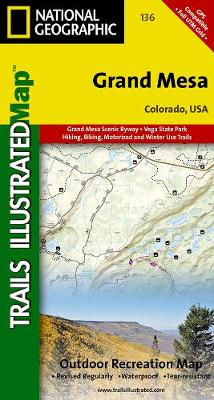 Grand Mesa: Trails Illustrated (Sheet map, folded)