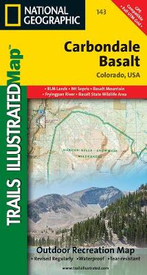 Carbondale/basalt: Trails Illustrated (Sheet map, folded)