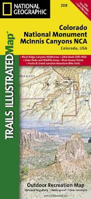 Colorado National Monument: Trails Illustrated National Parks (Sheet map, folded)