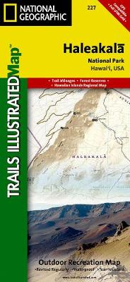 Haleakala National Park: Trails Illustrated National Parks (Sheet map, folded)
