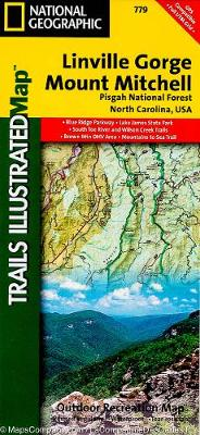 Linville Gorge/mount Mitchell, Pisgah National Forest: Trails Illustrated Other Rec. Areas (Sheet map, folded)