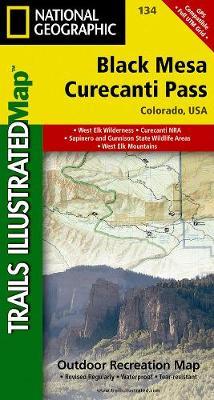 Black Mesa/Curecanti Pass: Trails Illustrated (Sheet map, folded)