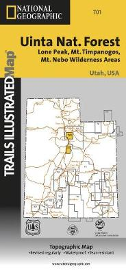 Wasatch Front South: Trails Illustrated Other Rec. Areas (Sheet map, folded)