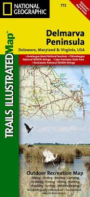 Delmarva Peninsula, Regional Recreational Map: Trails Illustrated Other Rec. Areas (Sheet map, folded)