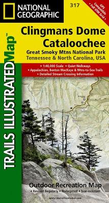 Clingman's Dome/cataloochee, Great Smoky Mountains National Park: Trails Illustrated National Parks (Sheet map, folded)