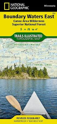 Boundary Waters, East, Superior National Forest: Trails Illustrated Other Rec. Areas (Sheet map, folded)