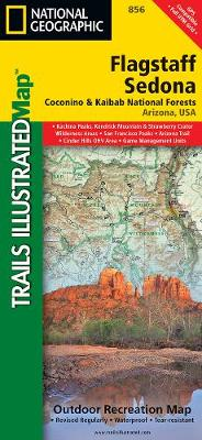 Flagstaff/sedona, Coconino & Kaibab National Forests: Trails Illustrated Other Rec. Areas (Sheet map, folded)