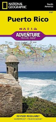 Puerto Rico: Travel Maps International Adventure Map (Sheet map, folded)