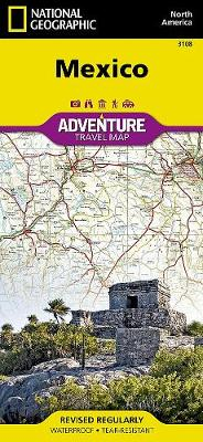 Mexico: Travel Maps International Adventure Map (Sheet map, folded)