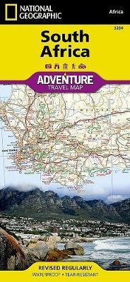 South Africa: Travel Maps International Adventure Map (Sheet map, folded)
