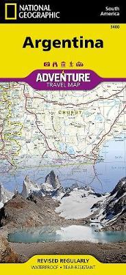 Argentina: Travel Maps International Adventure Map (Sheet map, folded)