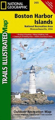 Boston Harbor Islands National Recreation Area: Trails Illustrated National Parks (Sheet map, folded)