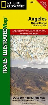 Angeles National Forest: Trails Illustrated Other Rec. Areas (Sheet map, folded)