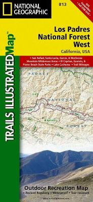 Los Padres National Forest, West: Trails Illustrated Other Rec. Areas (Sheet map, folded)