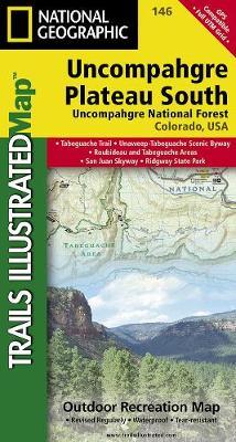 Uncompahgre Plateau, South: Trails Illustrated (Sheet map, folded)