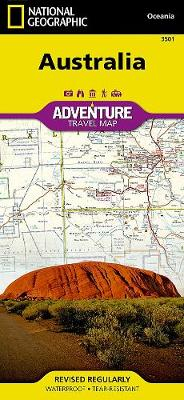 Australia: Travel Maps International Adventure Map (Sheet map, folded)