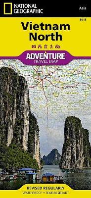 Vietnam, North: Travel Maps International Adventure Map (Sheet map, folded)