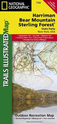 Harriman, Bear Mountain, Sterling Forest State Parks: Trails Illustrated Other Rec. Areas (Sheet map, folded)