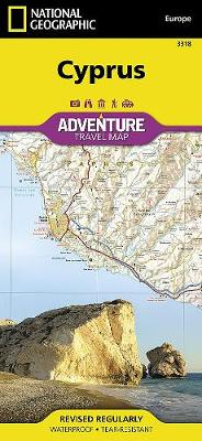 Cyprus: Travel Maps International Adventure Map (Sheet map, folded)