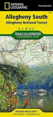 Allegheny National Forest South: Trails Illustrated Other Rec. Areas (Sheet map, folded)
